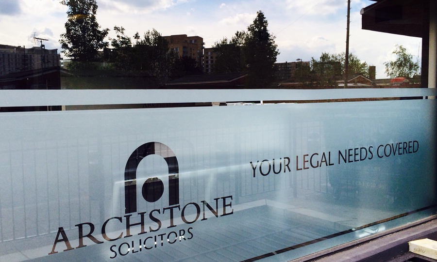 Archstone legal firm in East London